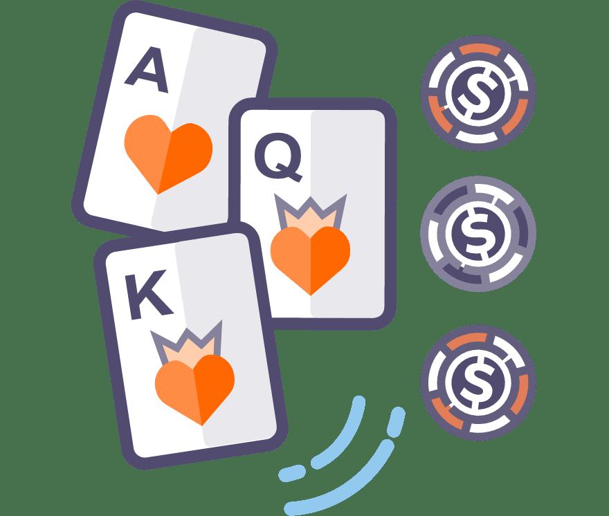 Играйте на живо покер с три карти